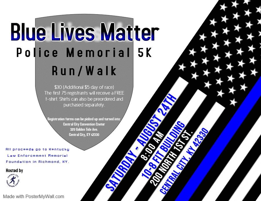 blue lives matter 5K run
